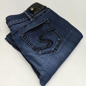 Womens Silver Suki Jeans Skinny 30x33